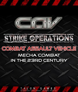 C.A.V. Combat Assault Vehicle - Strike Operations: N Scale Sci-Fi Mecha Tabletop Miniatures Game... at Dark Horse Hobbies!