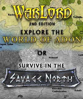 Warlord - 28mm Fantasy Miniatures Game of Magic and War.... available at Dark Horse Hobbies - Now!